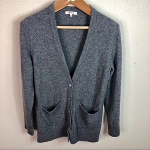 Madewell Sweaters - Madewell Gray Button Up Boyfriend Cardigan Small